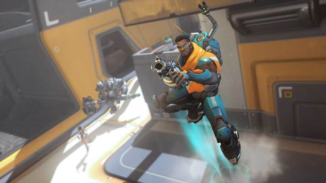 New Overwatch Hero Baptiste's Abilities Revealed
